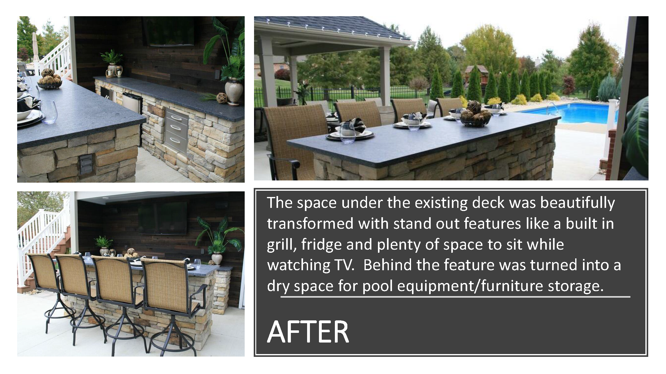 Outdoor Living Space Renovation
